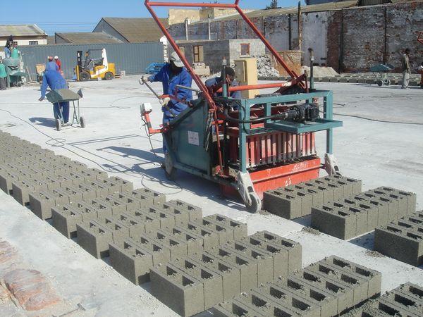 изготовление стеновых блоков