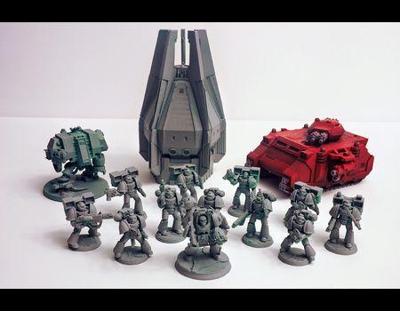 модели Warhammer на 3д принтере